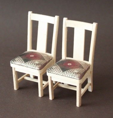 Stuhl unbehandelt 2 Stück