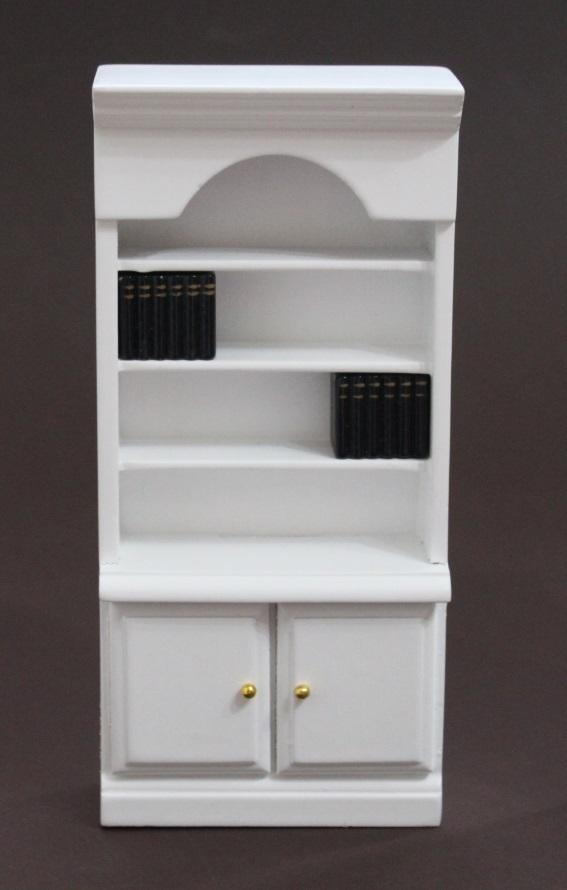 Bücherregal mit Bücher