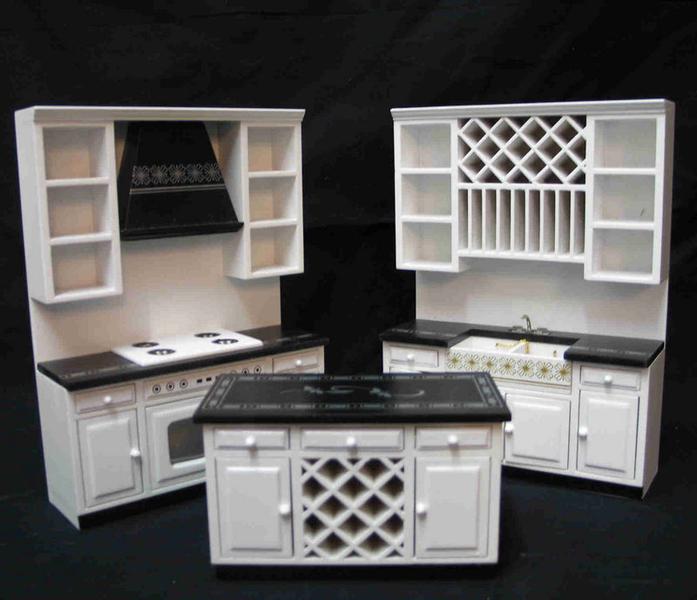 """Küchen-Set """"modern"""" In Weiß"""
