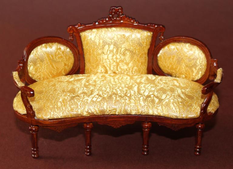 Sofa viktorianisch swisttaler puppenstuebchen for Sofa 80 tief