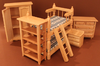 Kinderzimmer-Set natur