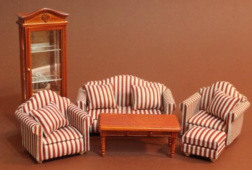 Wohnzimmer Set In Braun