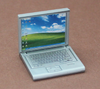 Laptop in silber